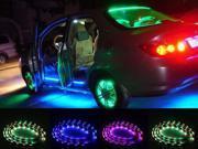 """AGPtek CE29 7-Color LED Car Underbody Glow Lights Strip Kit - 48"""" and 36"""""""