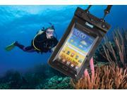 "80"" Deep Waterproof Phone Bag Case with Waterproof Headphone for iPhone 5/4/4S iPod Galaxy S4/S3 – Fit 3.5-5.5 Inch Smart Phones"