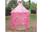 Fairy Princess Castle Pop Up Play Tent Best Gift for Kid - Pink