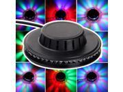48 RGB LED Voice-activated Stage Lighting Disco Bar DJ Party Rotating Light