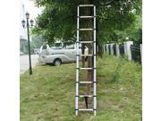 Aluminum Telescoping Ladder Portable/Extension Ladder 2.6M 8.5FT 9-step 330Lbs