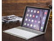 AGPtek 7-Color Backlight Backlit 3.0 Bluetooth Keyboard Cover Case Support System: IOS Android Windows for iPad Air2