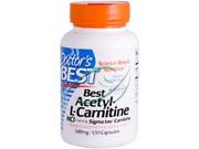 Doctor's Best Best Acetyl-L-Carnitine HCl Sigma Tau Carnitine (588 mg) 120 Capsules