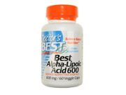 Doctor's Best Best Alpha-Lipoic Acid (600 mg)  60 Capsules