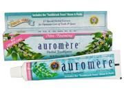 Toothpaste-Non Foaming Cardamom Fennel - Auromere Ayurvedic Products - 4.16 oz - Paste