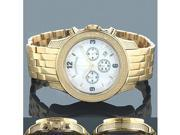 Luxurman Watches Mens Diamond Watch 0.50ct
