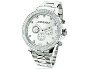 Limited Edition Mens Diamond Watch 2ct Luxurman