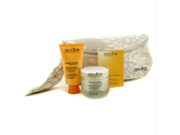 Hydra Floral Anti-Pollution Natural Beauty Collection: Cream + Mask + Aromessence Neroli + Bag - 3pcs+1bag