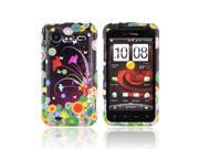 Slim & Protective Hard Case for HTC Droid Incredible 2 - Flower Art
