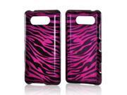 Purple Zebra Protector Case Phone Cover For Nokia Lumia 820