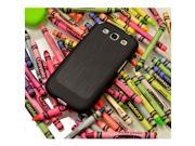 Black Super Premium Anti-slip Crayon Series Crystal Rubbery Feel Silicone Skin Case Cover For Samsung Galaxy S3