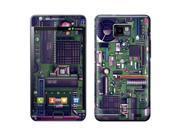 Oem Gelaskins Samsung Galaxy S2 Protective Skin - Green/ Black Motherboard