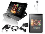 "Ionic 6-item Accessory Kit for Amazon Kindle HD 7"" (Black)"