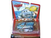 Disney / Pixar CARS 2 Movie 155 Die Cast Car Oversized Vehicle #6 Hydrofoil Finn McMissile
