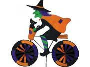 Witch on Bicycle Garden Spinner