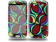 Crazy Dots 04 - Decal Style Skin (fits Samsung Galaxy S III S3)