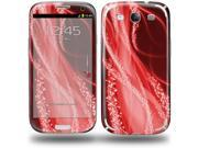 Mystic Vortex Red - Decal Style Skin (fits Samsung Galaxy S III S3)