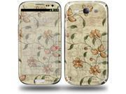 Flowers and Berries Orange - Decal Style Skin (fits Samsung Galaxy S III S3)