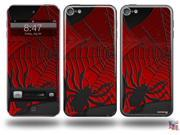 Spider Web Decal Style Vinyl Skin - fits Apple iPod Touch 5G (IPOD NOT INCLUDED)