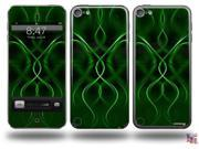 Abstract 01 Green Decal Style Vinyl Skin - fits Apple iPod Touch 5G (IPOD NOT INCLUDED)