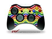 XBOX 360 Wireless Controller Decal Style Skin - Zig Zag Rainbow - CONTROLLER NOT INCLUDED