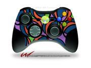 XBOX 360 Wireless Controller Decal Style Skin - Crazy Dots 02 - CONTROLLER NOT INCLUDED