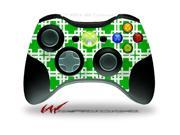 XBOX 360 Wireless Controller Decal Style Skin - Boxed Green - CONTROLLER NOT INCLUDED