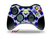 XBOX 360 Wireless Controller Decal Style Skin - Boxed Royal Blue - CONTROLLER NOT INCLUDED