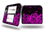 HEX Hot Pink - Decal Style Vinyl Skin fits Nintendo 2DS