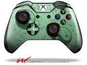 Feminine Yin Yang Green - Decal Style Skin fits Microsoft XBOX One Wireless Controller - CONTROLLER NOT INCLUDED