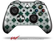 Boxed Hunter Green - Decal Style Skin fits Microsoft XBOX One Wireless Controller - CONTROLLER NOT INCLUDED