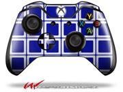 Squared Royal Blue - Decal Style Skin fits Microsoft XBOX One Wireless Controller - CONTROLLER NOT INCLUDED