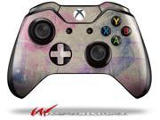 Pastel Abstract Pink and Blue - Decal Style Skin fits Microsoft XBOX One Wireless Controller - CONTROLLER NOT INCLUDED