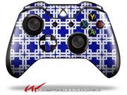 Boxed Royal Blue - Decal Style Skin fits Microsoft XBOX One Wireless Controller - CONTROLLER NOT INCLUDED