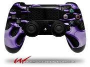 Metal Flames Purple - Decal Style Wrap Skin fits Sony PS4 Dualshock 4 Controller - CONTROLLER NOT INCLUDED