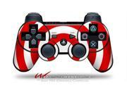 Sony PS3 Controller Decal Style Skin - Bullseye Red and White (CONTROLLER SOLD SEPARATELY)