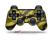 Sony PS3 Controller Decal Style Skin - Camouflage Yellow (CONTROLLER SOLD SEPARATELY)