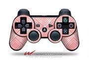 Sony PS3 Controller Decal Style Skin - Wavey Pink (CONTROLLER SOLD SEPARATELY)