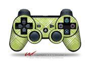 Sony PS3 Controller Decal Style Skin - Wavey Sage Green (CONTROLLER SOLD SEPARATELY)