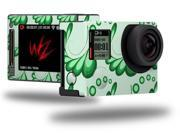 Petals Green - Decal Style Skin fits GoPro Hero 4 Silver Camera (GOPRO SOLD SEPARATELY)