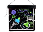 LED Illuminated Message Writing Board & Decorative Sign Display