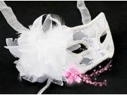 Venetian Lace Flower Feather Party Night Masked Ball Masquerade Fancy Dress Mask