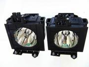 Panasonic ET-LAD60W Projector OEM Compatible Twin-Pack Projector Lamps