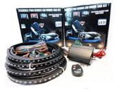 Waterproof LED Under Car Kit Wireless RGB 336 LED Neon Under Body Kit