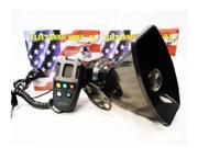 Police Siren 5 Tone PA System 60W Emergency Sound Fun
