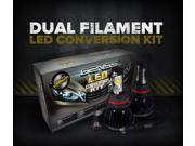 GENSSI 5000K LED Kit Headlight Conversion Kit CREE LED Bulbs HID Replacement