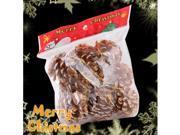 9 PCS Gold Pine Cone / Cones Ornament for Christmas Xmas Tree Decorations (5 cm) #7387#