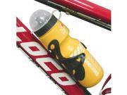 Yellow Bike Road Bicycle Sport Water Bottle 650ml