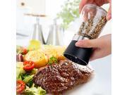 Kitchen cruet Pepper Grinder MILL Seasoning Glass Jar Squeezing Grinder Muller