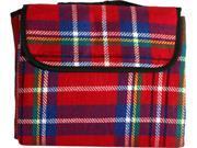 Sutherland Red Tartan Picnic Blanket